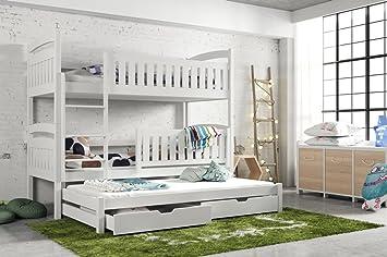 Etagenbett Hochbett Gebraucht : Wohnideebilder etagenbett hochbett kinderbett bianka für 3 personen