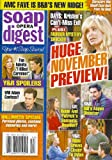 Eileen Davidson, Days of Our Lives, Melody Thomas Scott, Steve Burton, Young and the Restless, Amelia Heinle, Matthew Ashford - November 4, 2013 Soap Opera Digest Magazine
