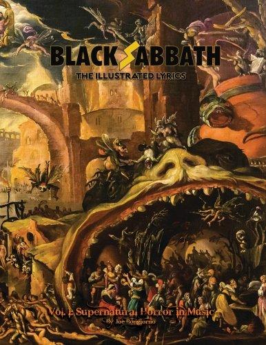 Black Sabbath: The Illustrated Lyrics, Vol 1: Supernatural Horror in Music (Volume 1) (Black Sabbath Never Say Die Cover Art)