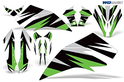 Amazon com: Wholesale Decals Kawasaki 450 Custom Graphics