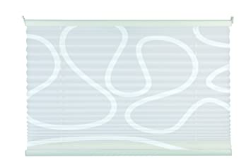 mydeco 80x210 cm bxh mit muster weiwei plissee jalousie ohne - Plissee Mit Muster