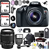 Canon EOS Rebel T6 DSLR Camera 18-55mm Lens, Advanced Filters, Carrying Bag, Cleaning Kit More!