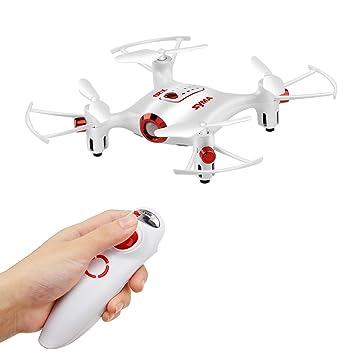 DoDoeleph Syma X20-S sin cámara Mini Bolsillo RC Drone Sensor de ...