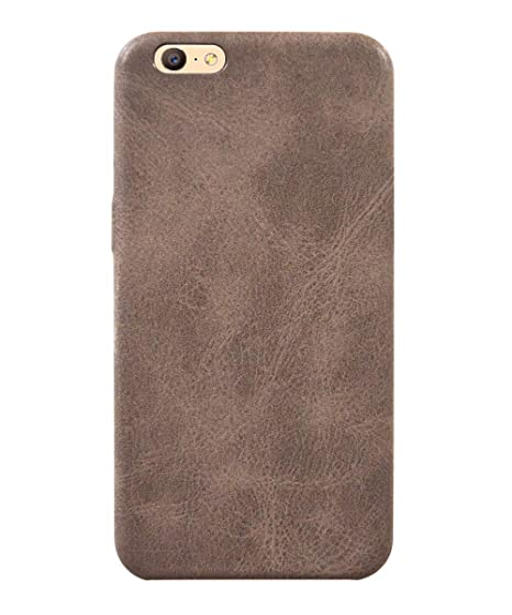 premium selection 9cb93 b3206 COVERNEW Leather Back Cover for Oppo A57 - CPH1701: Amazon.in ...