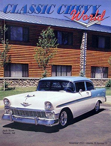 [1956 Chevrolet Bel Air 2-door sedan - Jack Scott - November 2003] (Bel Air 2 Door Sedan)