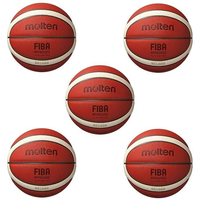 Fan Sport 24 Molten B6G5000 Fiba - Balón de Baloncesto (Talla 6, 5 ...