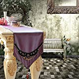 TRE European-style luxury table runner/bed runner/Side Cabinet runner-B 30x240cm(12x94inch)
