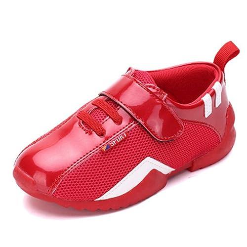XTIAN - Pantofole Bambino , rosso (Rot), 23/14.7cm