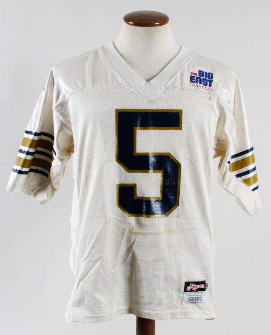 on sale 19927 2d75e Pitt Panthers Game-Worn Jersey #5 - College Game Used ...