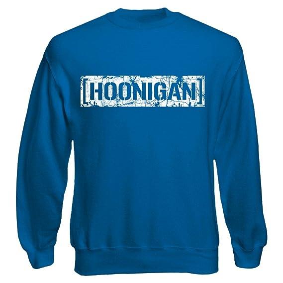 Shirt Happenz Hoonigan Vintage Sweatshirt Gymkhana Hoonicorn Ken Block  Pullover Pulli: Amazon.de: Bekleidung