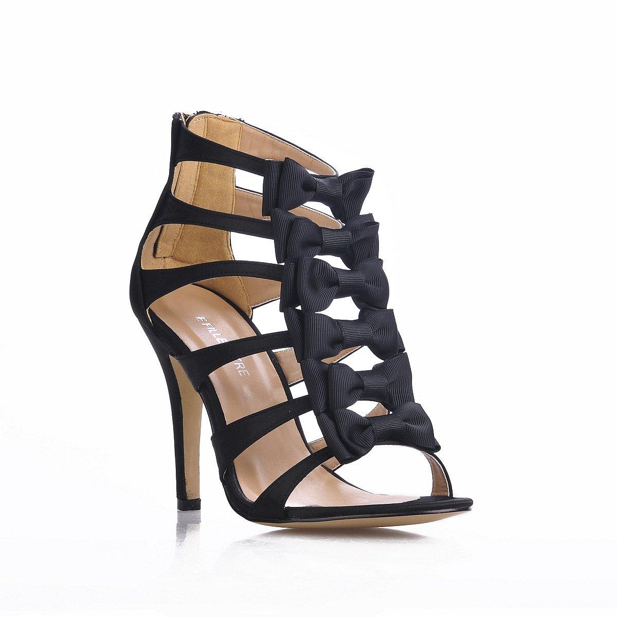 Sandales talon femme show à de la nouvelle de l banquet été, noir chaussures de talon chaussures banquet de belles fleurs papillon Black fd096a0 - therethere.space