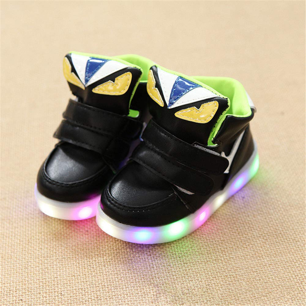 unyielding1 Kids Fashion Sneakers LED Shoes Dancing Shoes Sneakers