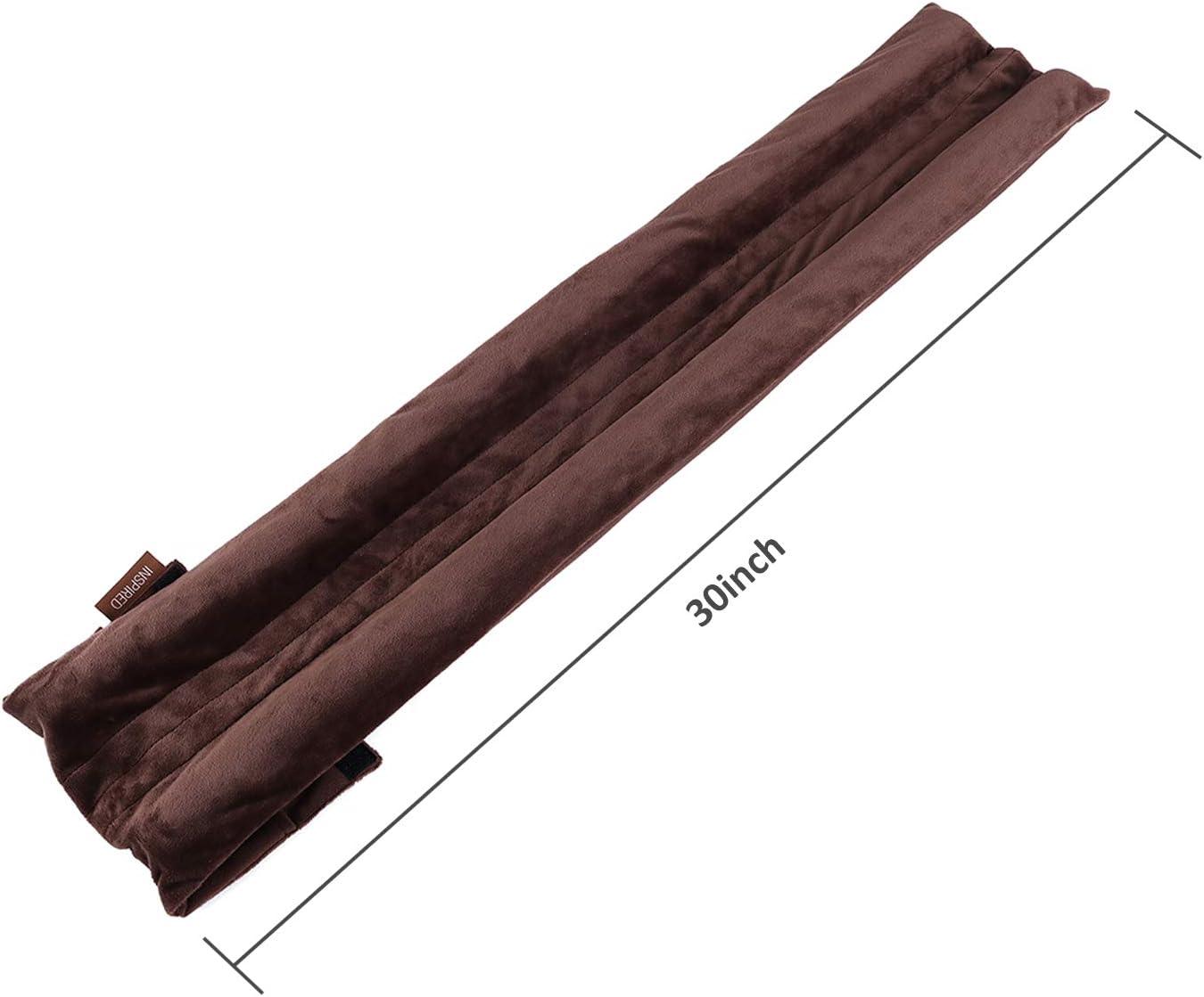 VISEMAN Zugluftstopper f/ür T/ür bis 76,2 cm Coffee verstellbar