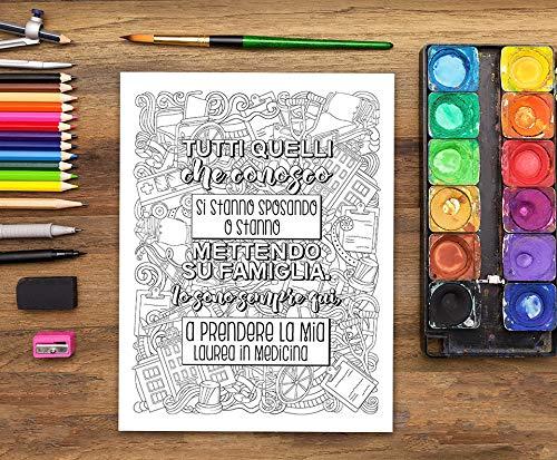 Vita da Medico: Un libro da colorare per i medici (Italian ...