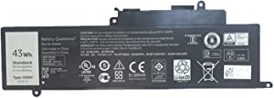 GK5KY 4K8YH 04K8YH 92NCT 092NCT 0GK5KY 0WF28 Laptop Battery Replacement for Dell Inspiron 11 3147 3148 3152 3153 3157 3158 Inspiron 13 7347 7348 7352 7353 7359 Inspiron 15 7558 7568(11.1V 43Wh)