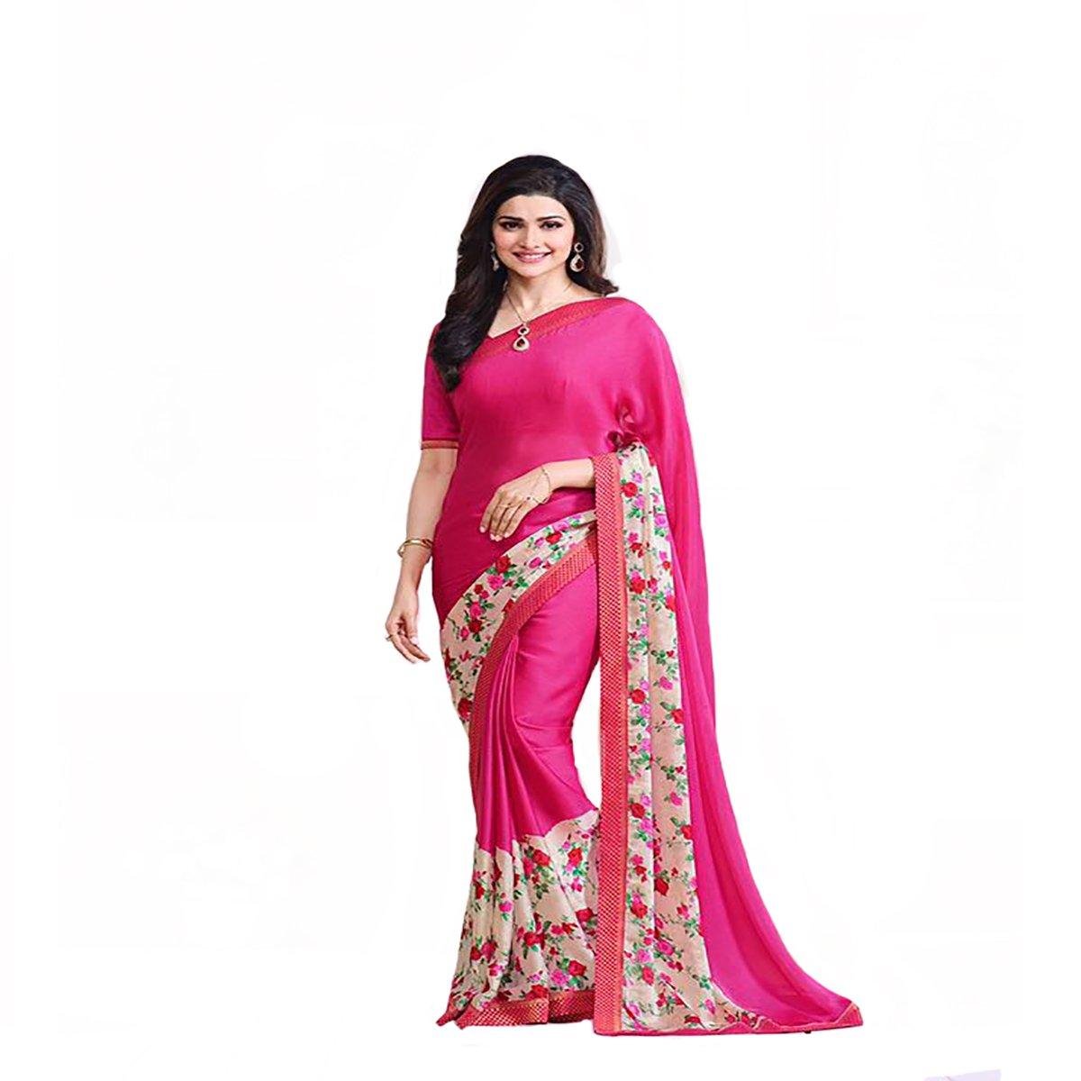 Party Wear Georgette Net Funda trabajo Original étnico Bollywood ...