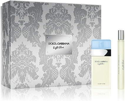 Dolce Gabbana Light Blue - Estuche de 25 ml EDT + 10 ml EDT TRENDPARFUM: Amazon.es: Belleza