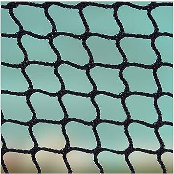Malla Cuerda Red,Red Cuerda Negra Escalera Bebe de Terraza Seguridad Protecciones Niños Deportes Escaleras Protección Gatos para Balcones Nylon Goal Net Redes Bola Campo Aire Libre FúTbol Golf Bola: Amazon.es: Deportes y