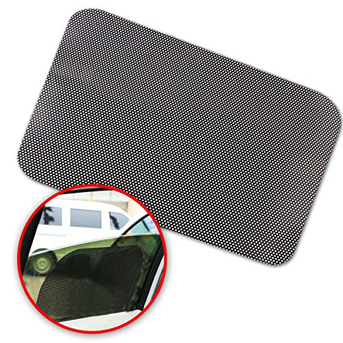 Zone Tech Car Rear Cling-On Sun Shade - Premium Quality Block Static Cling-On Sun Shade