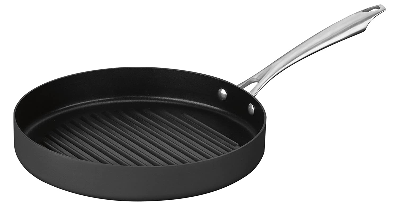 Cuisinart DSA30-28 Dishwasher Safe Hard-Anodized 11-Inch Round Grill Pan