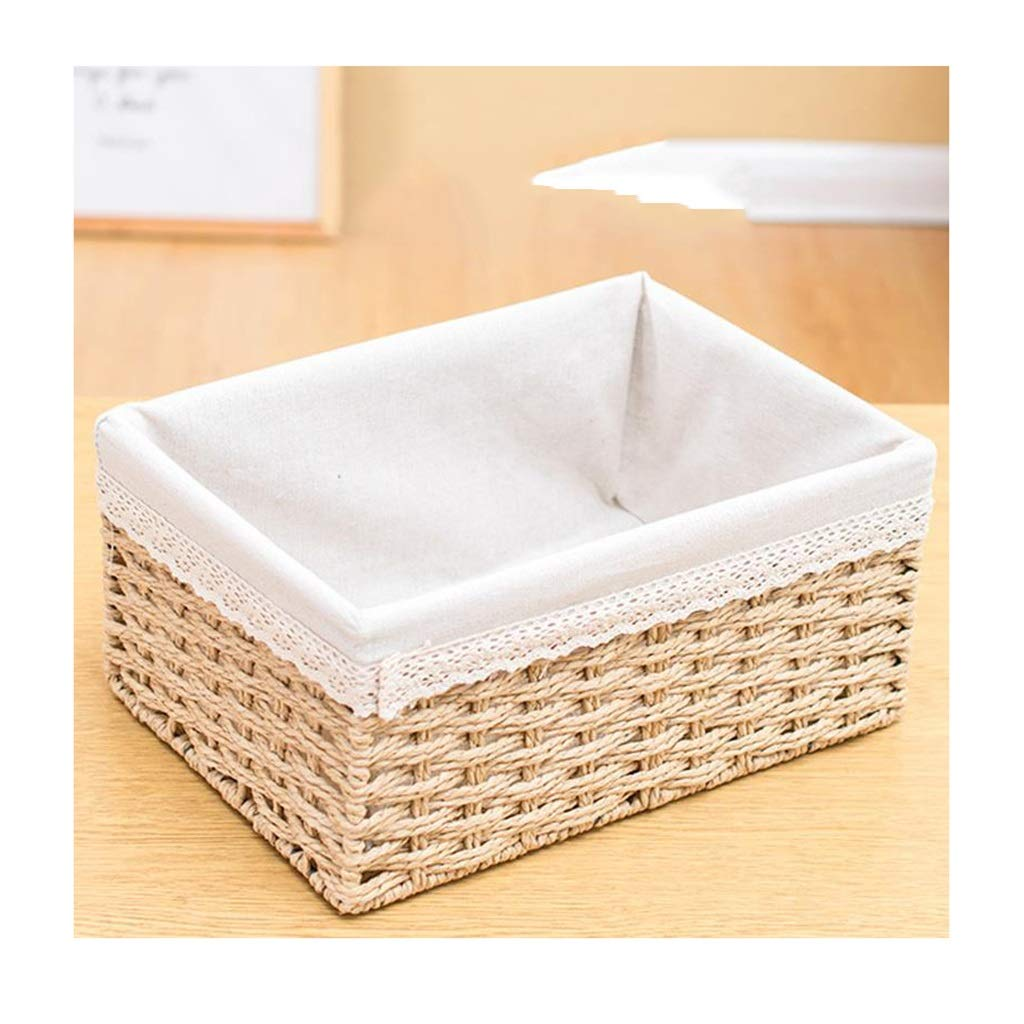 Details about Household With Handle Storage Basket Bedroom Closet Kitchen  Cabinets Iron Wire