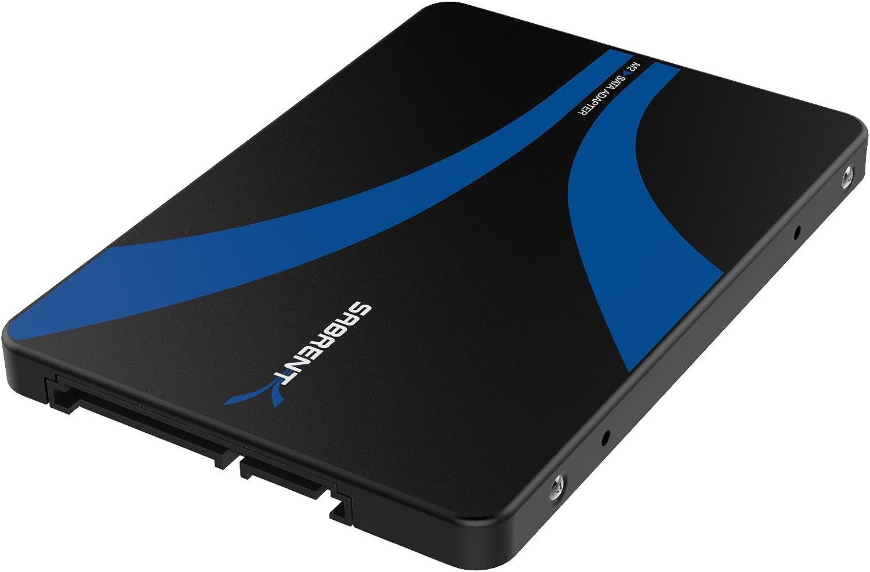 Sabrent M.2 SSD to 2.5-Inch SATA III Aluminum Enclosure Adapter ...