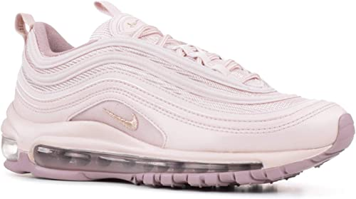 NIKE Women's Air Max 97 Shoes Barely RoseElemental, 6