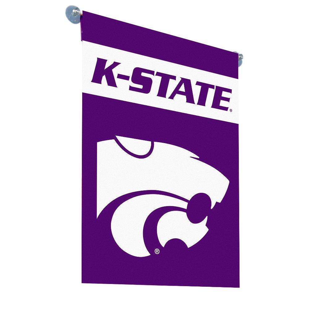 BSI NCAA Kansas State Wildcats deux Face Drapeau de jardin, Violet, taille unique BSI Products Inc. 83118