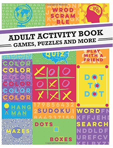 Adult Activity Book Dot Dot product image