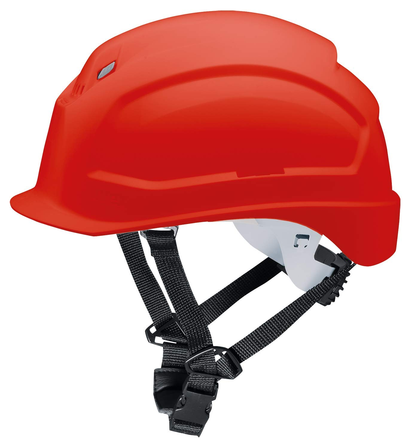 Uvex Pheos S-KR Safety Helmet Construction Helmet with 4-Point Chin Strap and Ventilation Holes