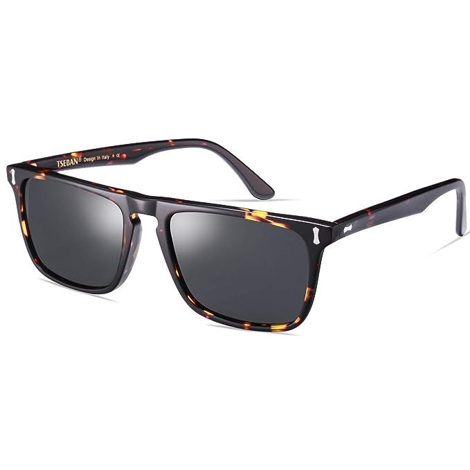 TSEBAN Clásico Polarizadas Gafas de sol Hombre UV400 ...