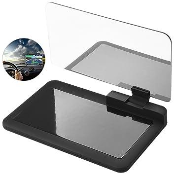 cargool coche HUD Head Up pantalla proyector teléfono GPS navegación imagen reflector coche Head Up pantalla
