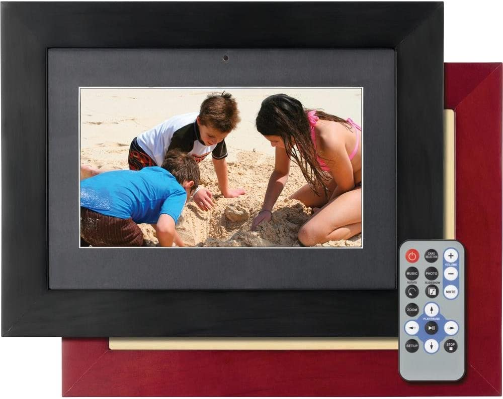 eMotion 12 Inch Digital Picture Frame with 2GB built in memory with two frames