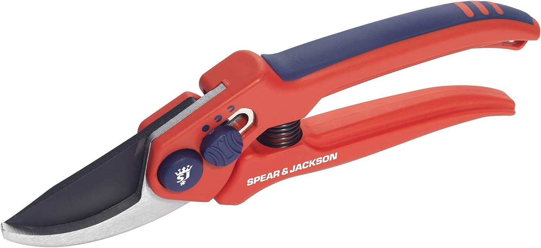 Spear /& Jackson 6559BS Razorsharp Adjustable Width Bypass Secateurs