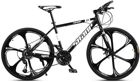 JLASD Bicicleta Montaña Bicicleta de montaña, 26 Pulgadas, Disco ...