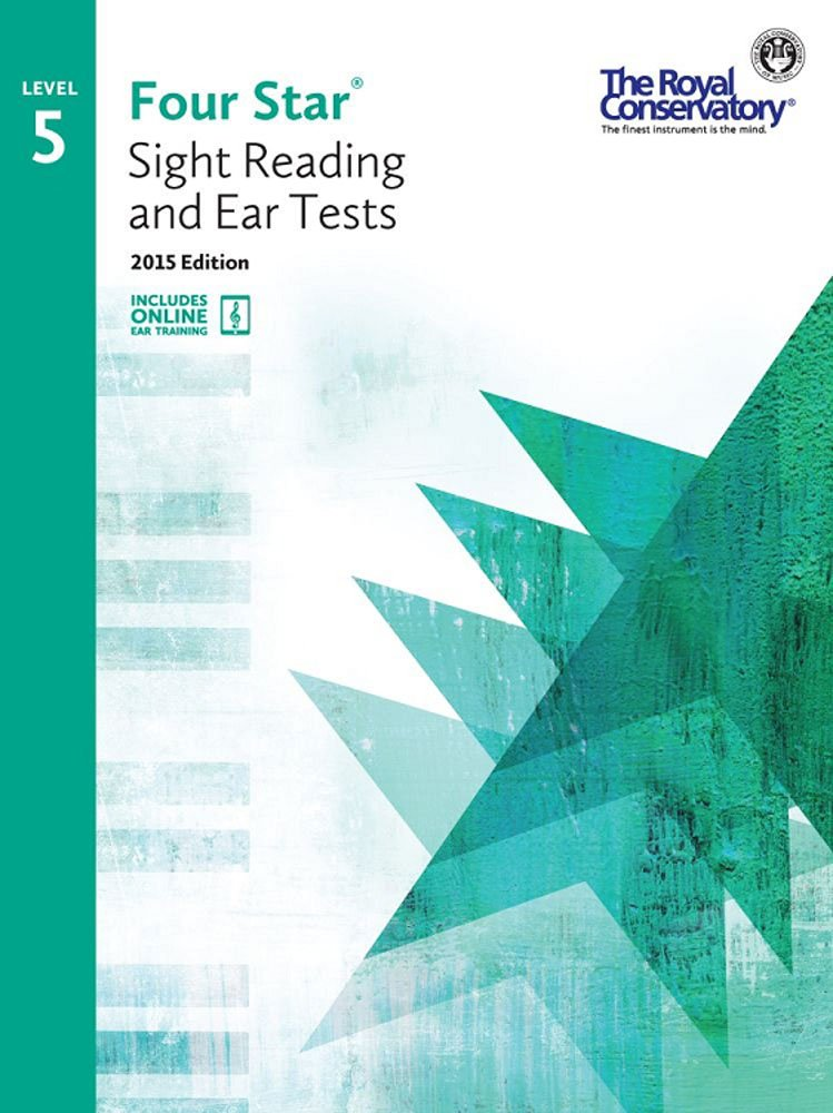 Download 4S05 - Royal Conservatory Four Star Sight Reading and Ear Tests Level 5 Book 2015 Edition ebook