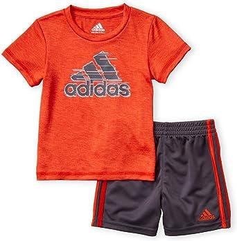 adidas t shirt shorts set