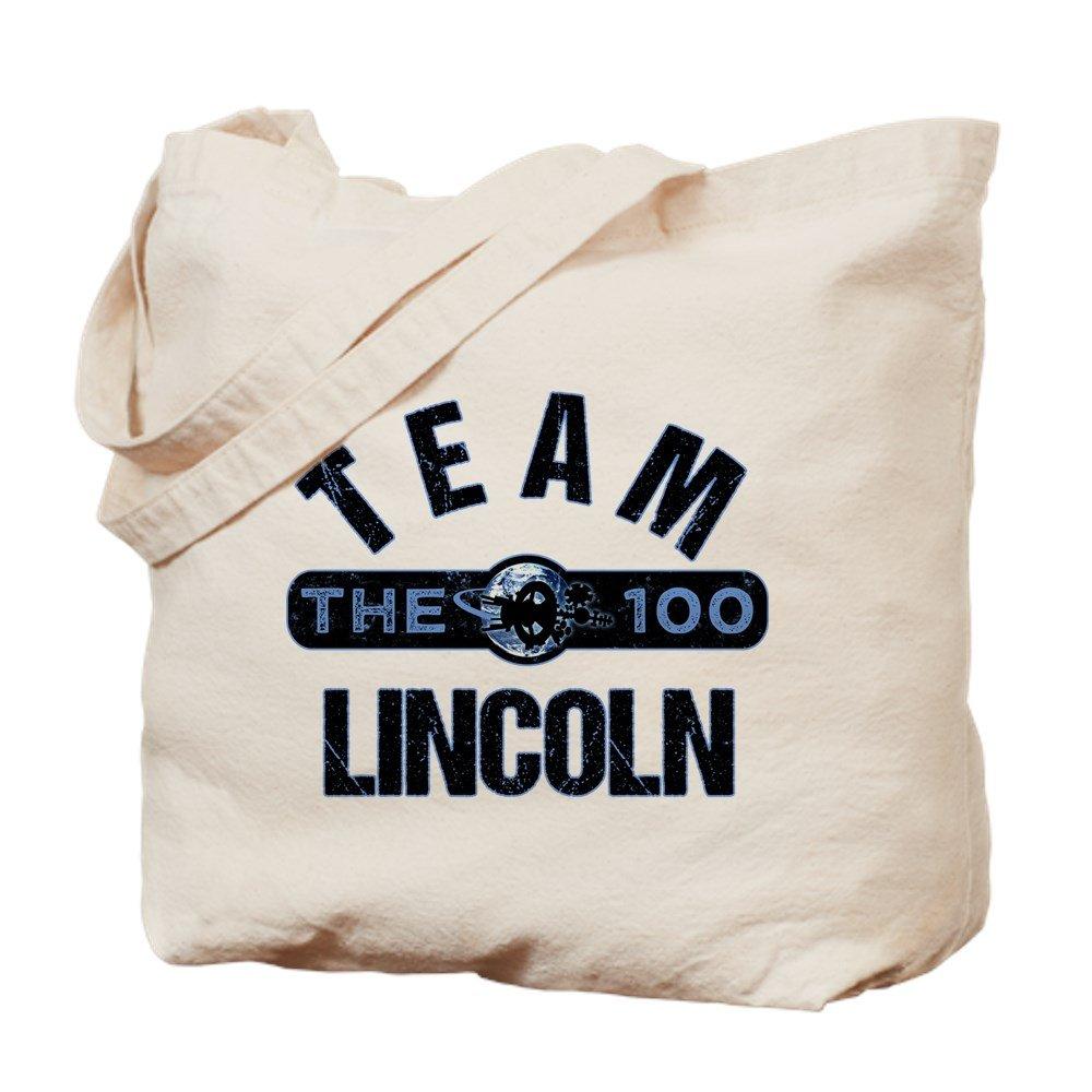 CafePress – the 100チームリンカーン – ナチュラルキャンバストートバッグ、布ショッピングバッグ B01BXT1NOS