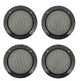 Anndason 4 Packs 3.7'' Speaker Grills Cover Guard Protector Mesh Speaker decorative circle Audio Accessories