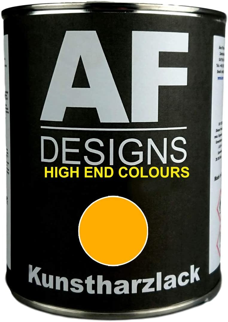 Alex Flittner Designs 1 Liter Kunstharzlack Für Jungheinrich Gelb Lkw Nfz Lack N Auto