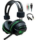 Dragonwar G-HS-003 Over-Ear Headphones (Black)