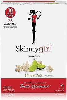 product image for Orville Redenbacher's Skinnygirl Lime & Salt Popcorn, 1.5 Ounce Mini Bag, 10-Count
