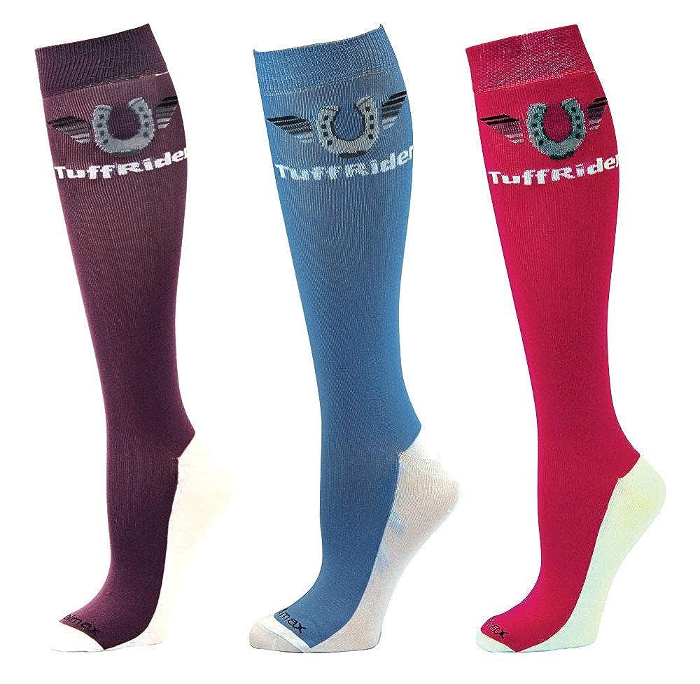 TuffRider Coolmax Boot Socks Black Standard JPC Equestrian 100106-114/16/STD