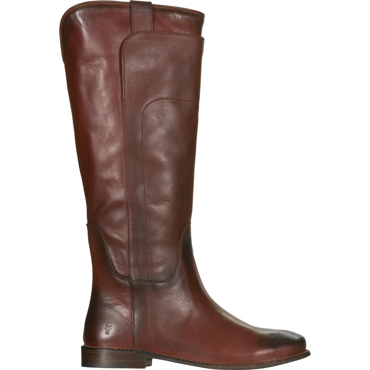 FRYE Women's Redwood Paige Tall Riding Boot Round Toe Red 8 M