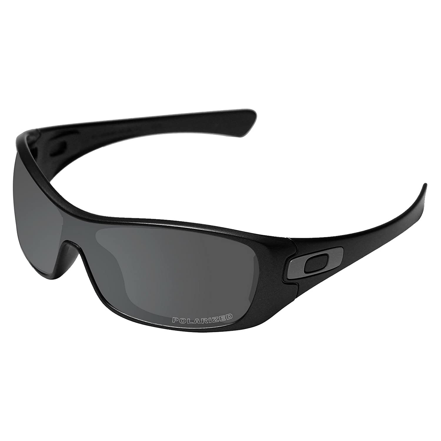 3f844c697fd Amazon.com  Tintart Performance Lenses Compatible with Oakley Antix Polarized  Etched-Carbon Black  Clothing