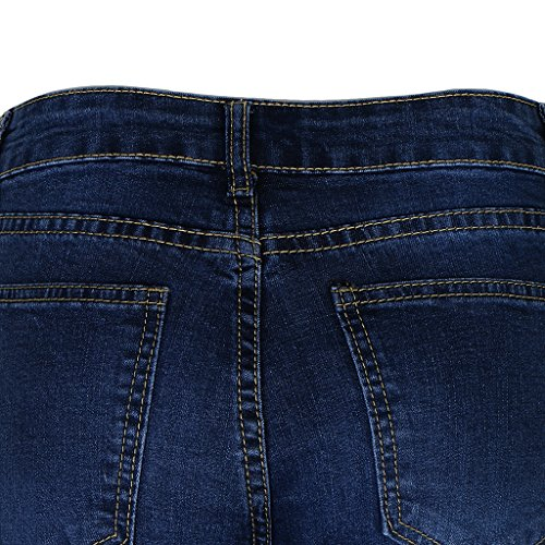 Baoblade Vtements Bleu Stretch Dchir Denim Femme Pantalon En Jeans 7rv7wxR