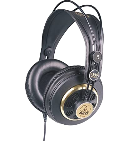 Amazon AKG K240STUDIO Semi Open Studio Headphones Musical