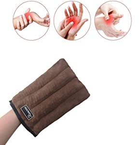 Heating Pad - Hand Arthritis Relief Gloves Therapy Warming Glove for Arthritis Stiff Soreness and Trigger Finger Relieve for Carpal Tunnel Arthritis Pain and Therapy Finger Stiff