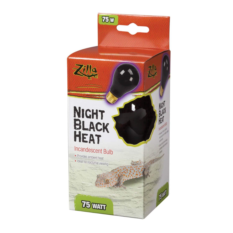 Zilla Incandescent Heat Bulb 100 Watts Night Red