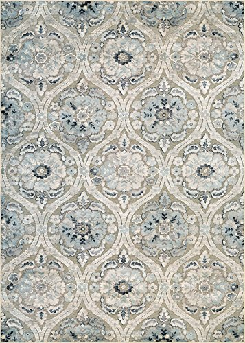 Couristan Ciré Cherrington Runner Rug, 2'7'' x 7'6'', Greige/Antique Cream by Couristan